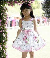 Cheap TuTu Girl Dresses Best Summer A-Line Children fashion 2014