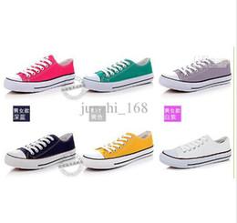 Wholesale Unisex canvas shoes Low Top amp High Sport Shoes High quality canvas shoes pairs