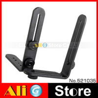 Yes No double L Flash bracket Light Stand camera double L bracket bilateral frame dual L-shaped bracket Free Shipping