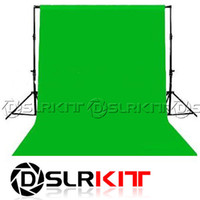 Wholesale Photo lighting studio Chromakey green screen Muslin background backdrop X2 M