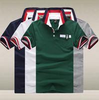 Men Cotton Polo 2014 Summer New Brand Classic Designer Casual Sport Sports Short Sleeve Men's Polo Shirt Shirts,Tops Tee for Men XL XXL R1476