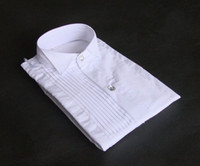 Polyester quality white shirts - Top Quality Men s Wedding Dress Prom Clothing Groom Shirts
