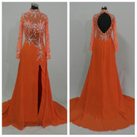 Wholesale SED26 New Design chiffon Islamic Formal Long Dress Abaya Long Sleeve Muslim Clothing Evening Dress
