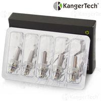 Electronic Cigarette kanger - Big promotion Authentic Kanger Protank Clearomizer eGo Thread Kanger Coils Protank protank evod Detachable coil core heads By DHL