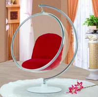 Plastic egg chair - Top bubble chair indoor swing egg chair space sofa transparent sofa Hanging Bubble Chair Acrylic Material Transparent Color