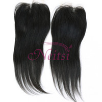 "Cambodian hair Natural Color Straight Rosa Hair Cambodian Straight Human Hair Bundles Lace Closures 1PC 12"" Two Tone Closure And 3PCS Cambodian Hair Best Lace Wigs"