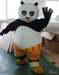 Wholesale brand new Adult Size Bestselling Kungfu Panda Mascot Costume Kung Fu Panda Mascot Costume Kungfu Panda Fancy Dress