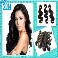 Wholesale 20 OFF Grade A Brazilian Virgin Hair Body Wave Queen Hair Products Unprocessed Human Hair Weave Wavy By DHL