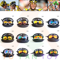 . pink sunglasses - Brand Cycling Bicycle Bike Outdoor Sports Sun Glasses Eyewear Goggle Sunglasses color lens