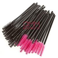 Wholesale Brand New Disposable Eyelash Mascara Applicator Wand Brush makeup brush One off Eyelash Extension brushes