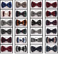 Wholesale 200pcs New Arrive HOT Men Neck Knitted Bowtie Bow Tie Color Pre Tied Adjustable Tuxedo Bowtie