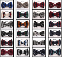 Wholesale 200pcs New Arrive HOT Men Neck Knitted Bowtie Bow Tie Color Pre Tied Adjustable Tuxedo Bowtie