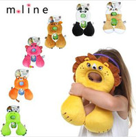 Wholesale 2014 new children pillow optional child safety Animal Care Pillow safe travel pillow u type memory pillow safety seat pillow years