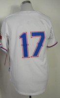 Men baseball choo - 2014 Authentic Jersey Baseball Jerseys Jersey Choo White Red Color Stitched Size Mix Order