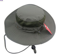 Wholesale Outdoor Summer Bucket Hat Travel Hat Wide brimmed Sun Cap Photography Hat Fisherman Caps Woman Beach Hat