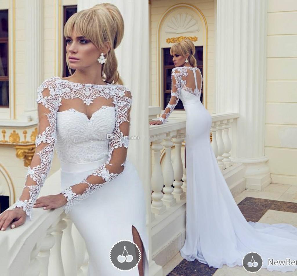 2014 New Arrival Dimitrius Dalia Wedding Dresses Mermaid