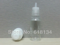 Wholesale Fedex ml PET Bottles Child proof cap And Long Thin Tip with tamper evident triangle cap