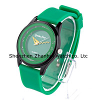 Wholesale NEW Colourful China Watches Jelly Silicone Watch Candy Watches Unique Design Neutral Watches kinds of color optional