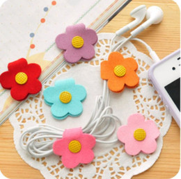 Wholesale Cartoon Animals Cable Winder Moblie Earphone Bobbin Winder Cable Holder Organizer L550