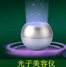 Wholesale Mini LED Red and Blue Light Skin Whitening Photon Face Rejuvenation Acne Removal Breast Beauty Ball