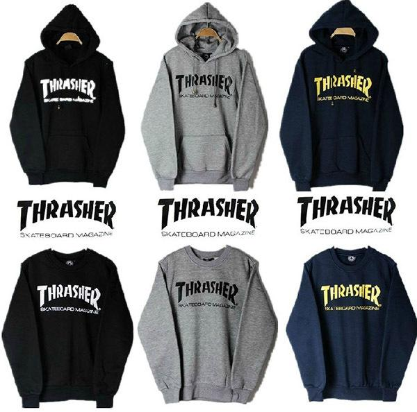 2017 2014 Street Skateboard Brand Thrasher Hoodies Sweatshirts ...