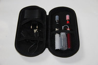 Wholesale Ego t double starter kit electronic cigarette CE4 atomizer clearomizer mah mah mah mah battery e cigarette shipped by DHL