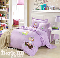 Wholesale Children Bedding Four pieces of set cotton twill fabric Kids Bedding Set