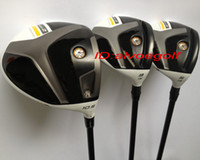 Wholesale New golf clubs high quality stage golf driver or degree with Fairway woods set headcover clubs driver