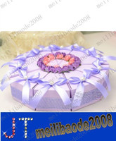 Favor Boxes Pink Paper NEW Cake Boxes Candy Boxes Wedding Favor Gift MYY122