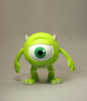 Wholesale Monsters Inc Popeyes Piggy bank Doll ornaments PVC Toys cm