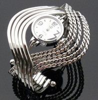 Wholesale 2015 New Fashion luxury Bangle Bracelet Wrist Watch Stunning Stylish stainless steel quartz watches xp17