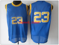 Wholesale High School Laney Michael Jordan Blue Swingman Jersey men basketball jerseys revolution best quality basketball uniforms sports shirt