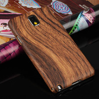 For Samsung Note3 Plastic Sample(Buy From 1pcs) WOOD Skin Design Hard Case Cover for Samsung Galaxy Note 3 Note III N9000 N9006 + Free Screen protector