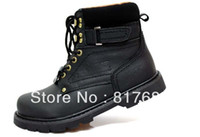Half Boots Snow Boots Men HOTsale Carter black wax big head Martin recreational hiking boots for men and women high shoes