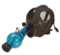 Metal   Free Shipping Gas Mask Water Pipe - Sealed Acrylic Hookah Pipe - Vaporizer - Filter Smoking Pipe