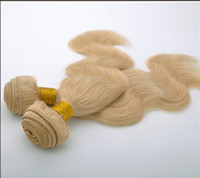 Wholesale DHL Malaysian Bulk hair extensions colored Human Remy Hair Braid light color body wave