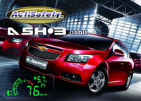 Wholesale ActiSafety III OBD II Car HUD Universal Speed Head Up Display MPH KMH Green LED