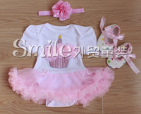Wholesale Hot sale baby s sets of four Baby Girls Lace Toddle Kids Dress headdress flower leg warmers shoes