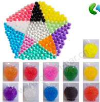 Wholesale WEDDING CRYSTAL ACCENTS DECO BEAD WATER STORING GEL BEADS MAGIC SOIL MUD CANDLES FLOWER PLANT g