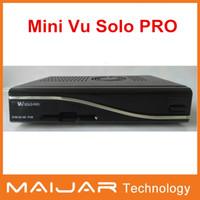 Wholesale 1pcs mini vu solo pro hot sell Enigma2 HD digital satellite receiver Openpli4 Blackhole2 mini version vu solo PRO