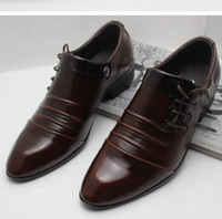 Cheap Lace-Up men shoes Best Men Spring and Fall bussiness shoe