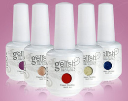 Wholesale 12Pcs New Arrival Gelish Nail Polish Soak Off UV LED Gel Polish Fashion Colors Available