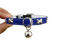Wholesale Cute little Dot Dog Collar amp pet Leash different colors B157