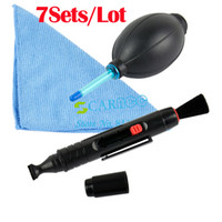 Wholesale 7SETS Camera Lens Pen Cleaning Pen in Cleaning Kit Set For Camera Lens TK0877