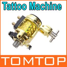Wholesale Professional Silent Golden Motor Rotary Tattoo Clip Cord Gun Machine Dropshipping