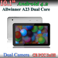10 inch Android 4.2 16GB 2014 New 10inch Tablet pc Big discounts Allwinner A23 Dual Core 1GB 16GB 6000mah Tablet pc Freeshipping
