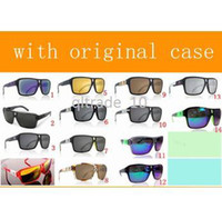 Wholesale 22 colors AAA quality factory price NEW DRAGON Sunglasses The Jam Sunglasses Mirror Lens Brand Designer Sport Sunglasses with case