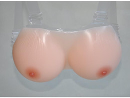 Wholesale 1600g G cup Medical silicone Super cup Breast Form Breast Care amp Treatment For Cross dresser