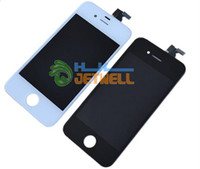 For Apple iPhone LCD Screen Panels other 10 pcs lot Glass Touch Screen Digitizer & LCD Assembly Replacement For iPhone 5 5S & Free FedEx