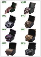 Wholesale Ama ni Business Neck Tie Set Tie clip tie cufflinks handkerchief